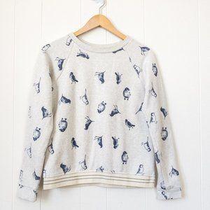 🌻 2/$25 Twik by Simons Blue Birds Shirt